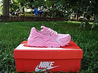 Женские кроссовки Nike Air Huarache Pink (ТОП РЕПЛИКА ААА+)