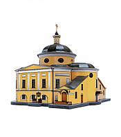 Картонная модель Покровский храм ставропигиального женского монастыря 215 Умная бумага