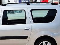 Рейлинги Fiat Fiorino/ Qubo/Peugeot Bipper/Citroen Nemo 08- /Черный /Abs, фото 1