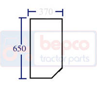 Стекло LOWER FRONT LH CURVED Ford 24/4015-29T (82011531)