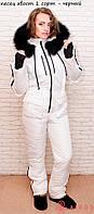 Женский стильный комбинезон TM Airos, с натуральным мехом