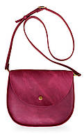 Bag vinous Saddle, сумка-седло, бордовая, фото 1