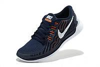Nike Free Run 5.0 2015 Темно Синие, фото 1