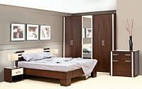 Элегия спальня 5Д (Світ Меблів)без матраса и каркаса