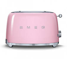 Тостер Smeg розовый TSF01PKEU