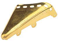 Мыски/носики металлические декоративные №2, золото, фото 1