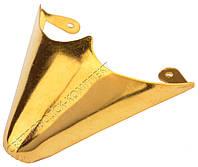 Мыски/носики металлические декоративные №4 Золото