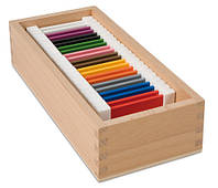 Цветные таблички - ящик №2  , размер пластинок 70*40*2 мм