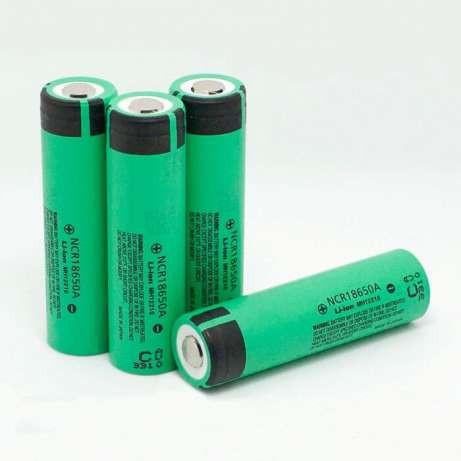 Акумулятори з захистом Panasonic ncr 18650 3400 mah