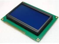 Индикатор графический ЖКИ  с подсветкой QC12864 Синий, фото 1