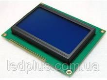 Индикатор графический ЖКИ  с подсветкой QC12864 Синий