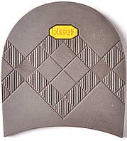 Набойка резиновая мужская BISSELL, art.RB613, цв. коричневый (желтый лого)