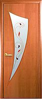 Двери межкомнатные Новый стиль Парус ольха 3d ПО+Р2