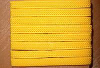 Резинка обувная текстильная 0.6 см метражная в боббинах, фото 1