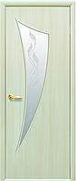 Двери межкомнатные Новый стиль Парус дуб жемчужный ПО+Р3