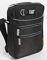 Прочная сумка через плечо 8 л. с отделением для планшета CAT Selfie 83298;01 Черный
