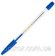 Ручка кулькова корпус прозорий, BM.8117 стрижень синій. BuroMax