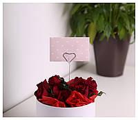 """Мини - конверт """"Сердечки"""", фото 1"""