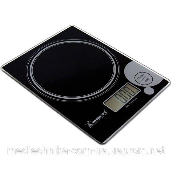 Весы кухонные электронные на стеклянной платформе Momert 6848