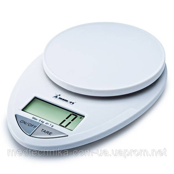 Весы кухонные электронные на пластиковой платформе Momert 6839