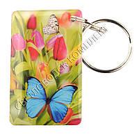 """Заготовка ключа для домофона RFID 5577, """"Бабочка"""", перезаписываемая"""