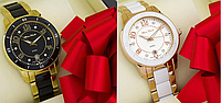 Alberto Kavalli gold white, red white, gold black кварцевые часы