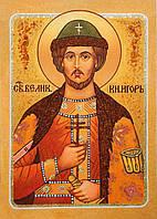 Икона из янтаря Святой князь Игорь