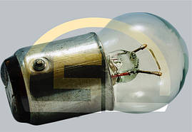Лампа накаливания самолетная СМ 26-15 B15d