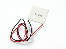 Элемент Пельтье мощностью 60Вт 15V6A TEC1-12706 теплонасос термоэлектрический элемент