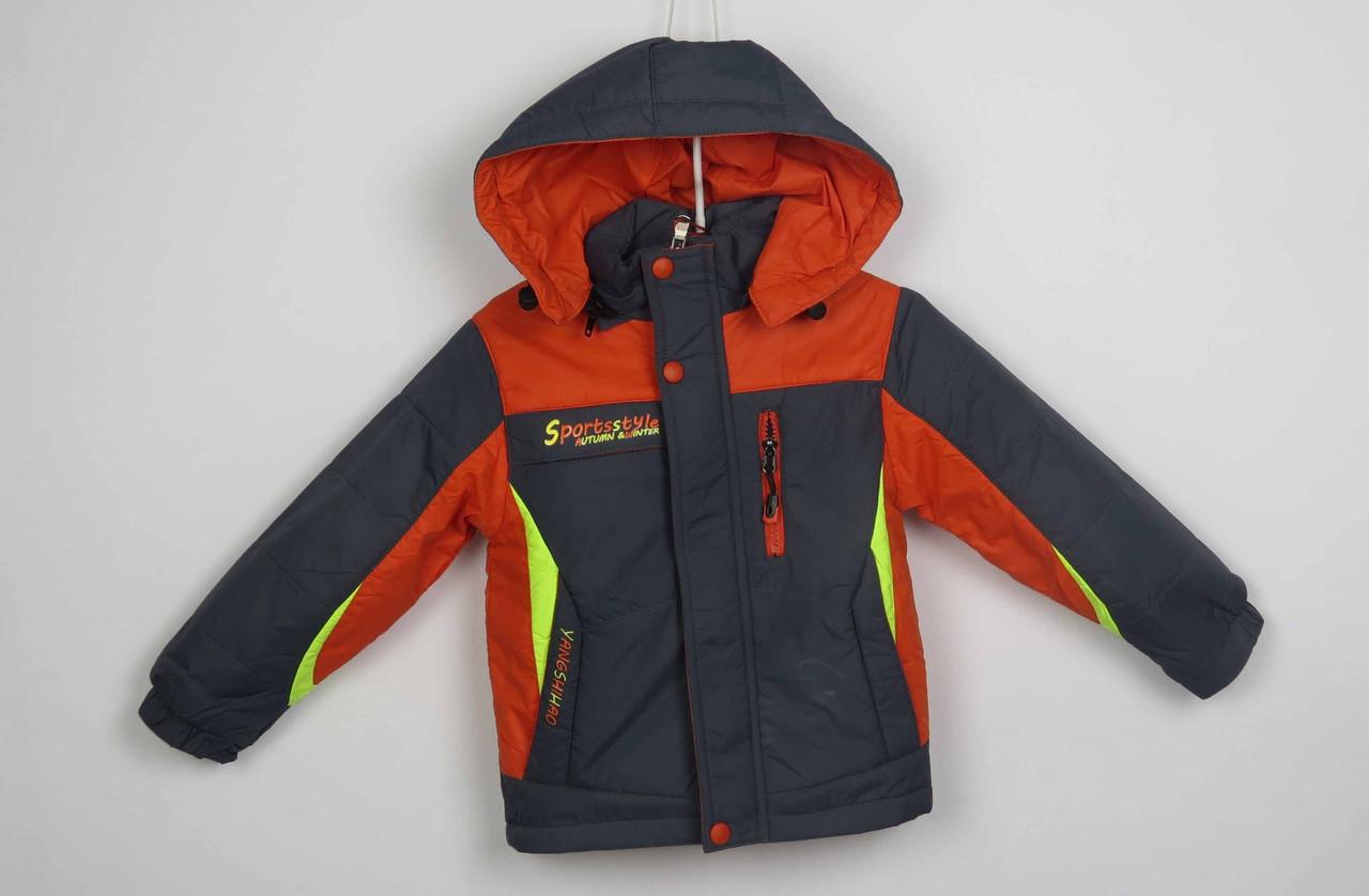 Куртка весна-осень,код с-31, размеры рост 92 см - 110 см, размеры 2-5 лет, фото 1