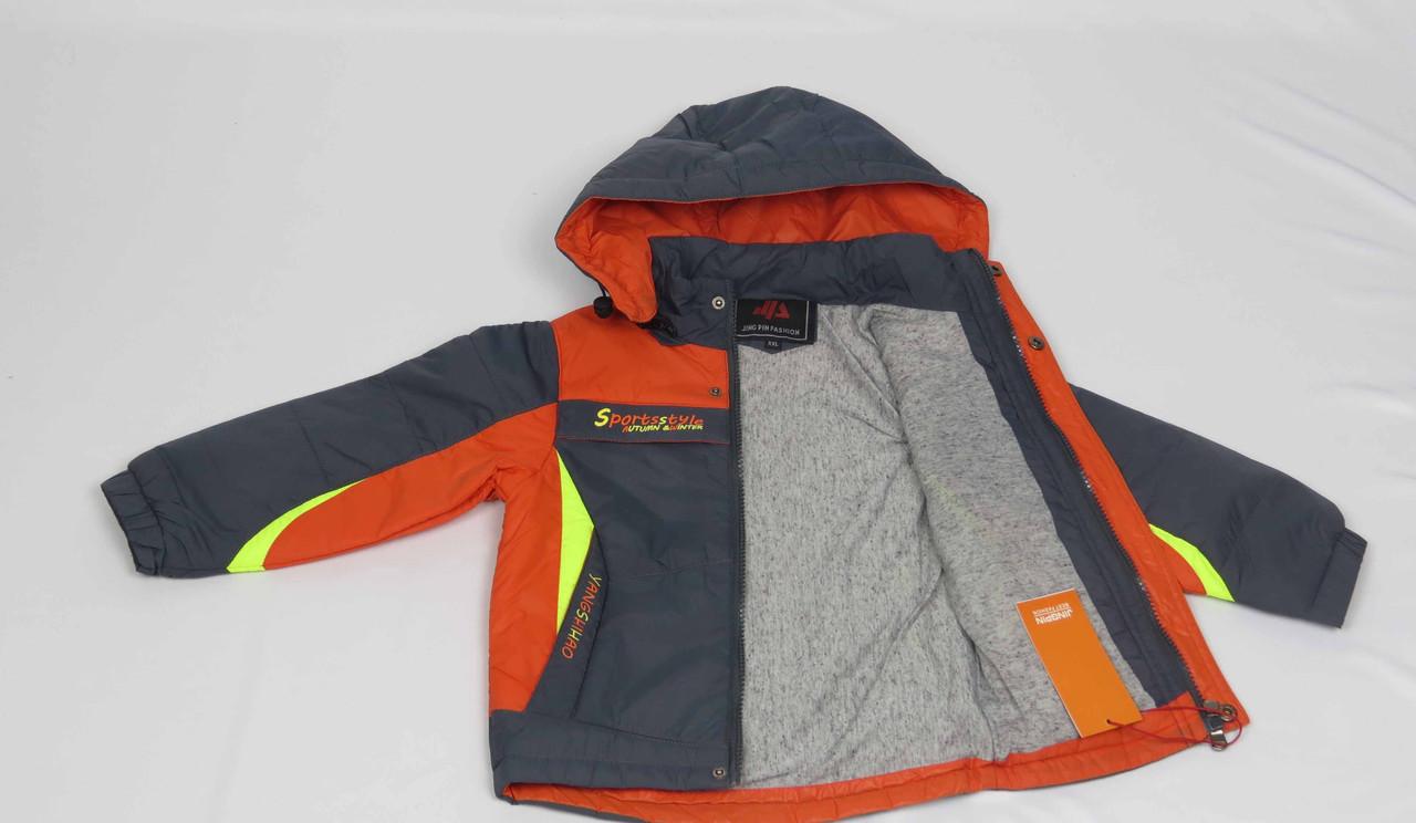 Куртка весна-осень,код с-31, размеры рост 92 см - 110 см, размеры 2-5 лет, фото 3