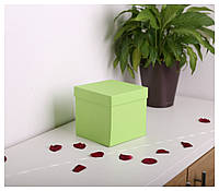 Квадратные коробки для цветов 15*15*15 см