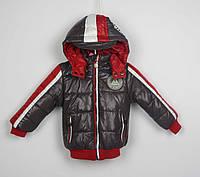 Куртка демисизонная теплая (переход на зиму),код 13-11, размеры рост 86 см - 110 см, размеры 1,5 лет - 5 лет