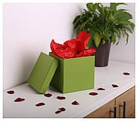 Квадратные коробки для цветов 20*20*20 см