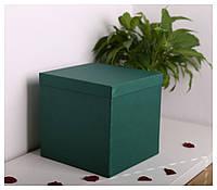 Квадратные коробки для цветов 25*25*25 см, фото 1
