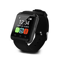 Умные часы. Смарт часы Smart Watch U8 для Android и iOS. Черный. 3 цвета