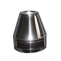 Конус термо (Aisi 201)  нерж./оц. Ø130/200, толщина 0,5 мм