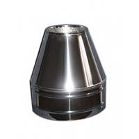 Конус термо (Aisi 201)  нерж./оц. Ø130/200, толщина 1,0 мм