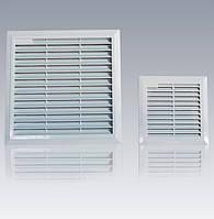 Решетка вентиляционная с фильтром 250х250 IP54 вентрешетка в щит ящик шкаф электротехнический цена купить