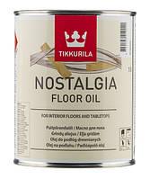 Ностальгия - масло для пола содержащее твердые растительные воски, для обработки пола, столешниц, мебели 0,9л