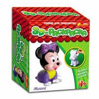 "3D раскраска ""Мышка"""