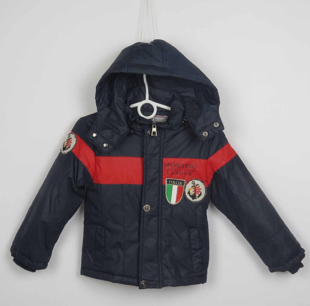 Куртка весна-осень,код italy, размеры рост 92 см - 116 см, размеры 2-5 лет, фото 1