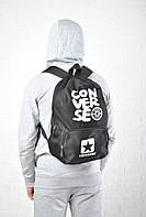 Черный рюкзак конверс (Converse) реплика