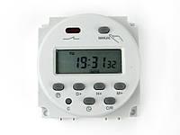 Таймер CN101A недельное часовое реле времени питание 12В нагрузка 220В 16А, фото 1