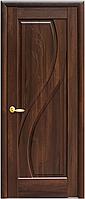 Двери межкомнатные Новый стиль Прима Каштан ПГ с гравировкой