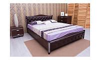 Кровать двуспальная патина ромб Прованс (бук)