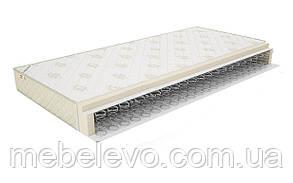 Двуспальный матрас Стандарт 1 с еврокаркасом 160х200 Матролюкс h16  односторонний бонель 120кг, фото 2