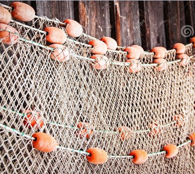 Рыболовные сети (полотна) для промышленного лова