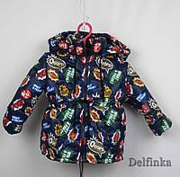 Куртка весна-осень,код 104, размеры рост 92 см - 110 см, размеры 2-5 лет, фото 1