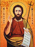 Икона из янтаря Святой Иоанн Предтеча